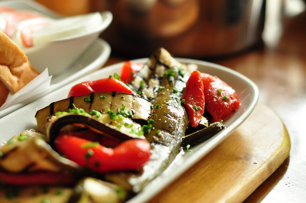Delicious Mediterranean food and seafood